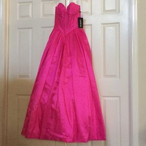 Sherri Hill got pink corset ball gown pageant prom